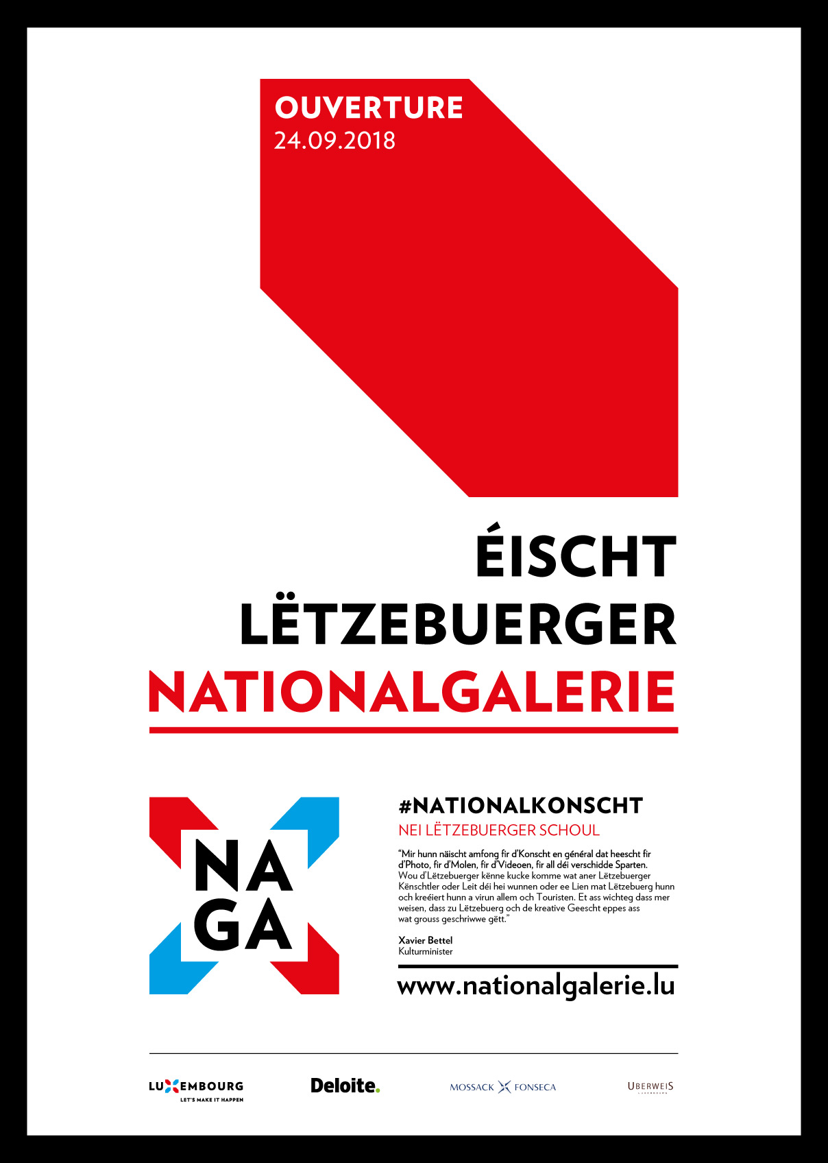 Affiche Nationalgallerie